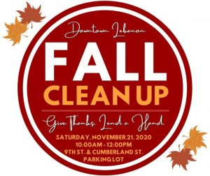 Give Thanks Downtown Lebanon Clean Up
