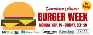 Downtown Lebanon Burger Week @ Downtown Lebanon | Lebanon | PA | United States
